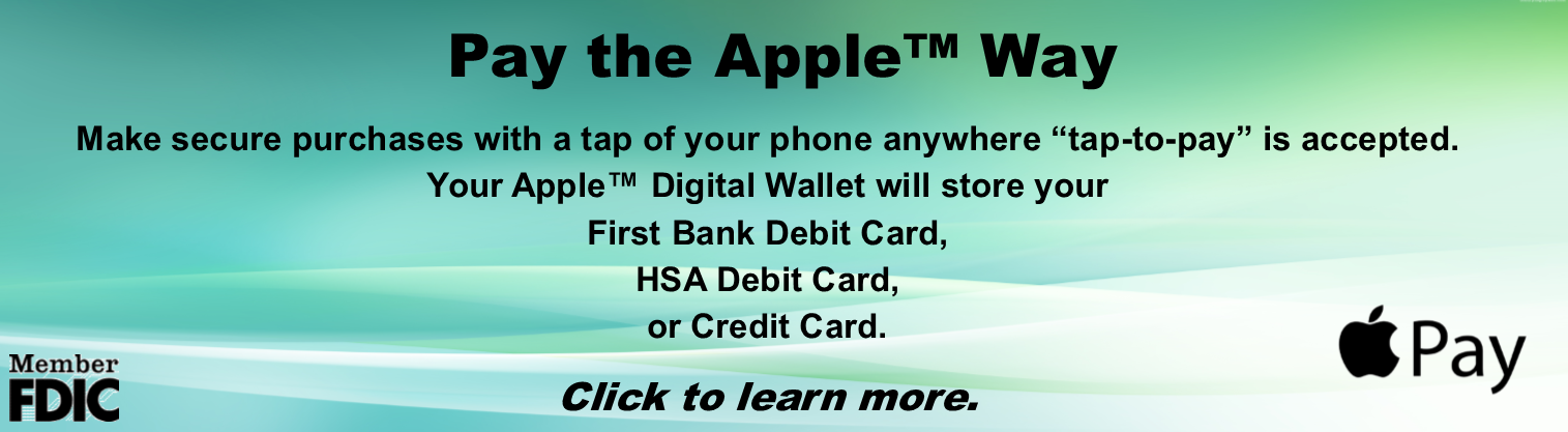 Apple Pay Banner