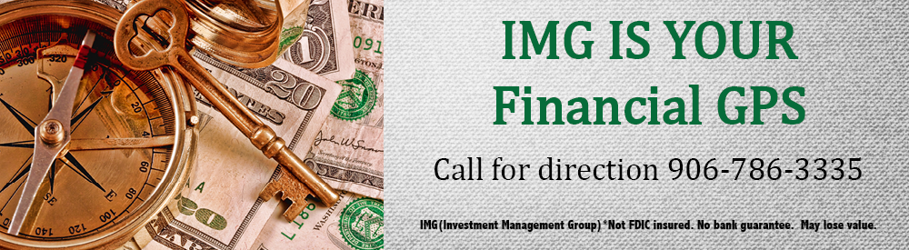 IMG ad prompting you to call them for financial advice